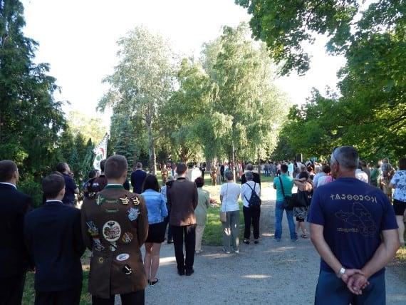 Béke Park a Székely kapuval