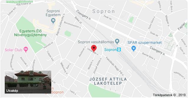 Vadaszkürt map
