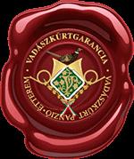 Vadászkürt garancia pecsét
