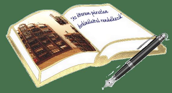 Rólunk, Vadászkürt panzió és étterem vendégkönyv!